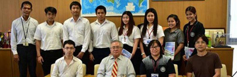 นักศึกษาคณะวิทยาศาสตร์ประยุกต์ มจพ. ได้รับคัดเลือกเป็นนักศึกษาแลกเปลี่ยนโอกินาวา