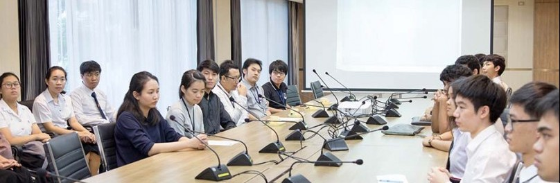 บริษัท ยูแทคไทย จำกัด เข้าสัมภาษณ์นักศึกษาคณะวิทยาศาสตร์ประยุกต์เพื่อเข้าร่วมโครงการสหกิจศึกษา
